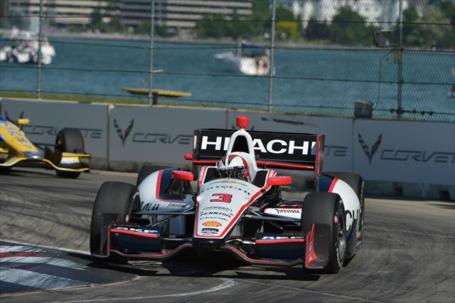 IndyCar: Detroit (Race 2) – Castroneves wins, Penske completes weekend sweep