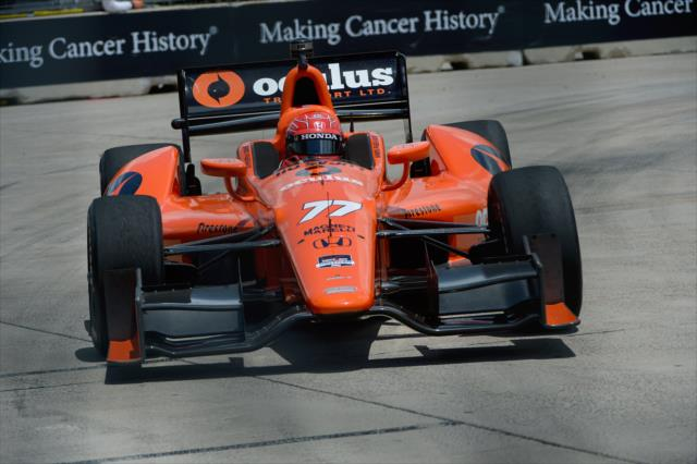 IndyCar: Houston Race 1 - Pagenaud, Castroneves qualify 1-2