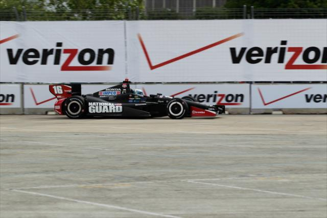 IndyCar: Houston – Pagenaud, rookies shine in Practice 2
