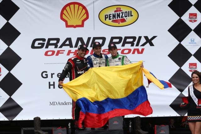 IndyCar: Houston Race 1 – The Colombian Sweep
