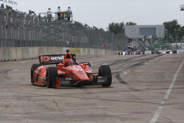 IndyCar: Houston Race 2 – Pagenaud wins; rookies Aleshin, Hawksworth follow