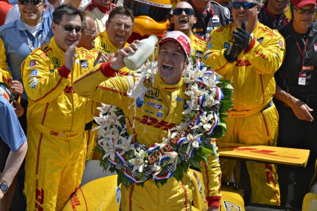 Indy 500 – Hunter-Reay tops Castroneves in second closest finish ever