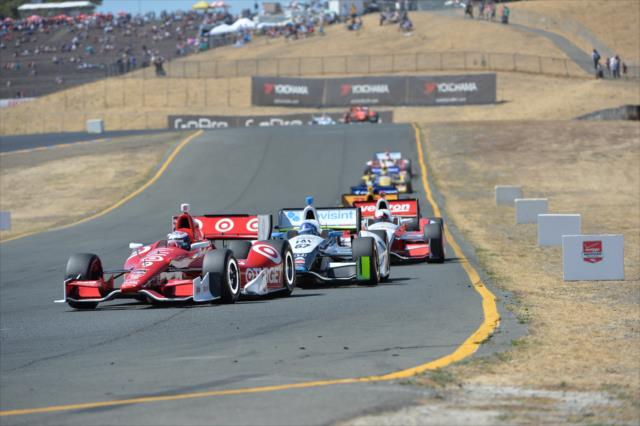 IndyCar: Sonoma – Dixon beats Hunter-Reay, Pagenaud; Conway coasts to line