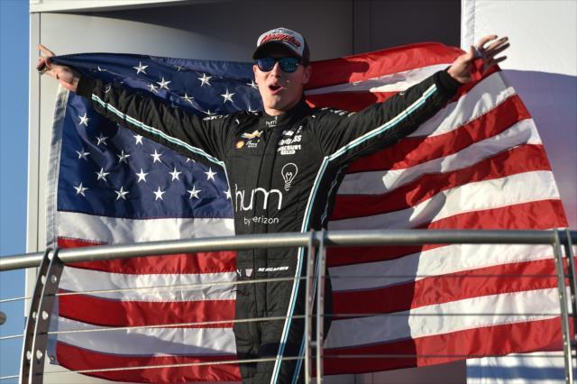 Josef Newgarden, campeón 2017 de IndyCar. Foto gentileza de IndyCar Media/Chris Owens.