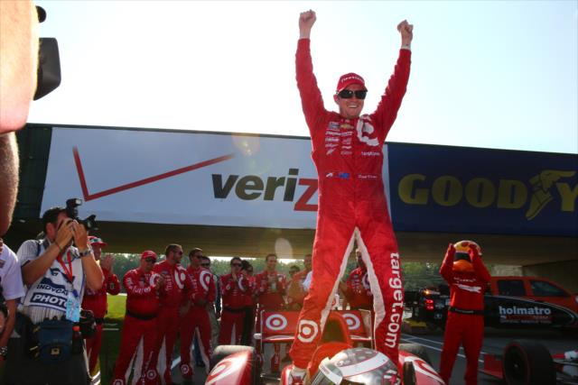 IndyCar: Mid-Ohio – Dixon goes last-to-first; tops Bourdais, Hinchcliffe
