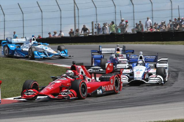 IndyCar: Mid-Ohio – Rahal takes win at home track, narrows points lead