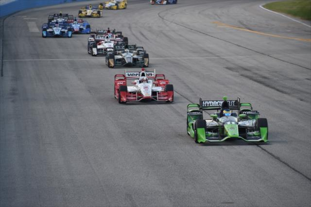 IndyCar: Milwaukee - Bourdais wins, ties Al Unser Jr. as 7th all-time