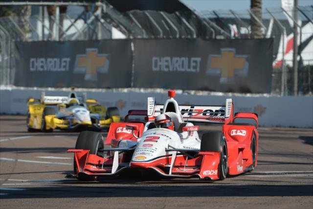 IndyCar: St. Petersburg – Montoya wins, Penske takes 4 of Top 5 spots