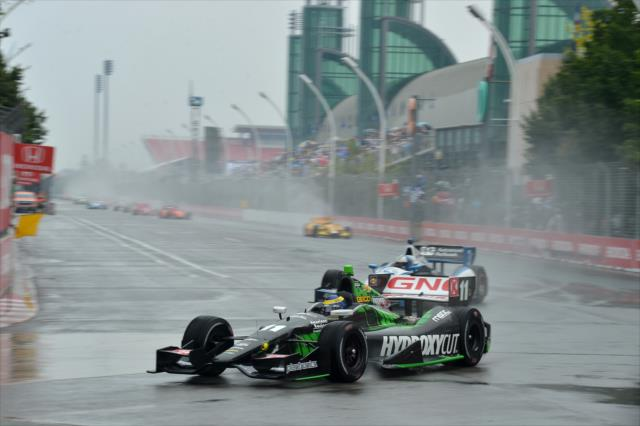 IndyCar: Toronto Race 1- Moved to Sunday due to poor visibility