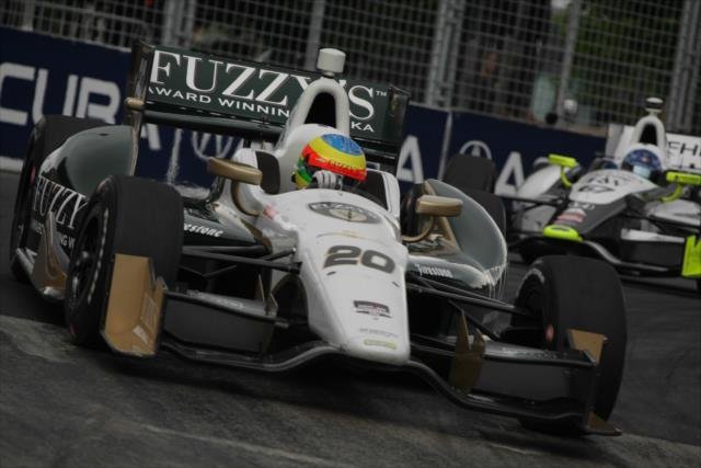 IndyCar: Toronto Race 2 – Conway takes win, Kanaan third straight podium